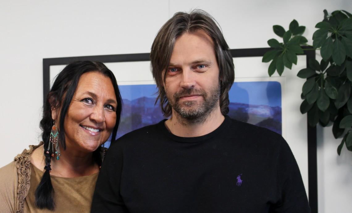 Eva Dønnestad og Anders Dovran. Foto: Therese Skauge Klokset