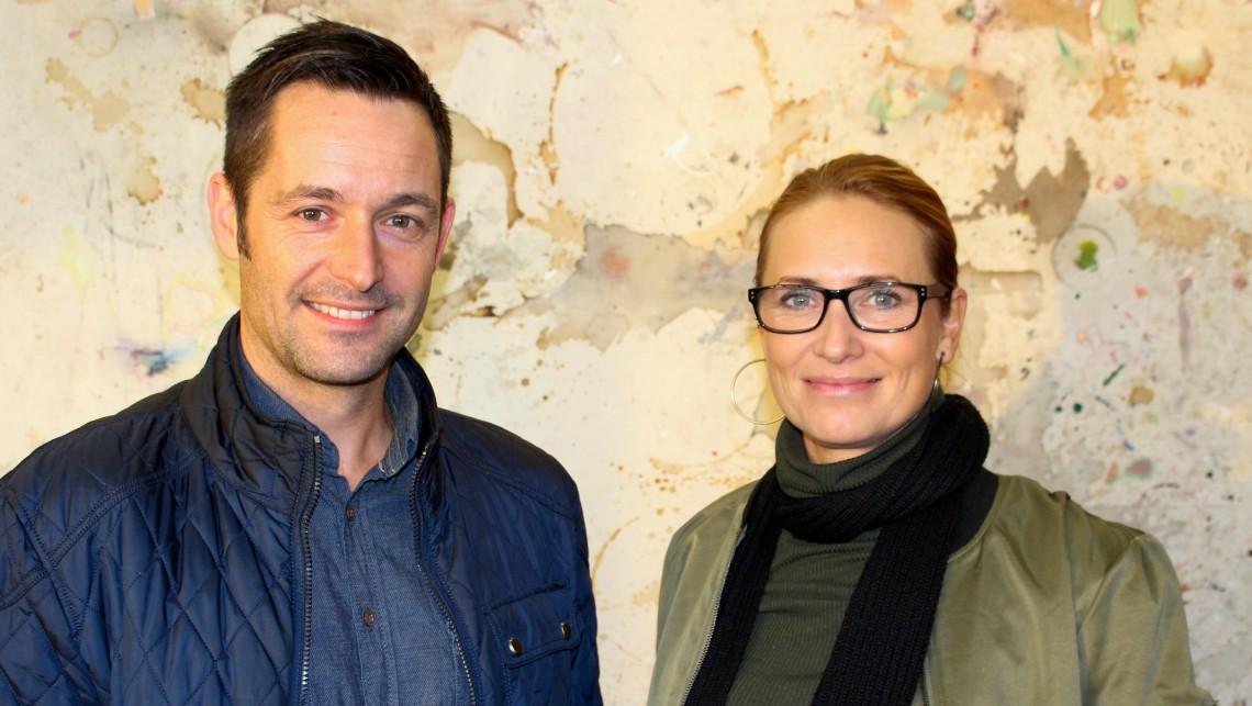 Ruben Gausdal og Kristin Stokke. Foto: Eva Dønnestad