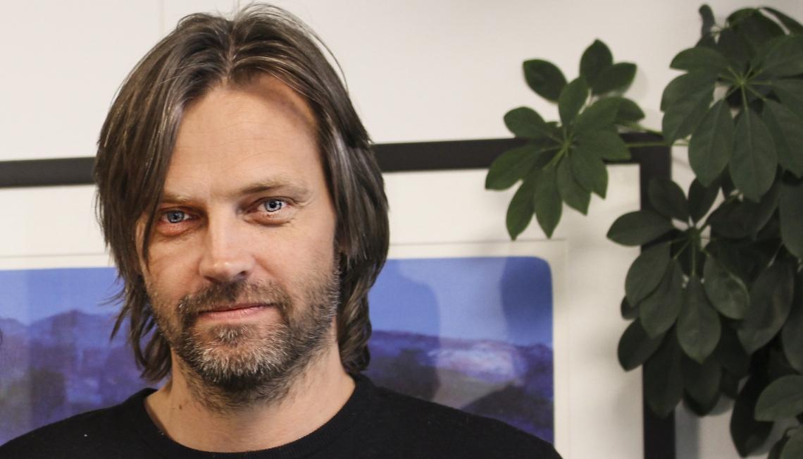 Psykologspesialist Anders Dovran, RVTS SØR. Foto: Therese Skauge Klokset