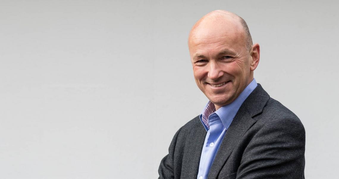 Trond F. Aarre, psykiater, og avdelingssjef på Nordfjord psykiatrisenter. Foto: Privat