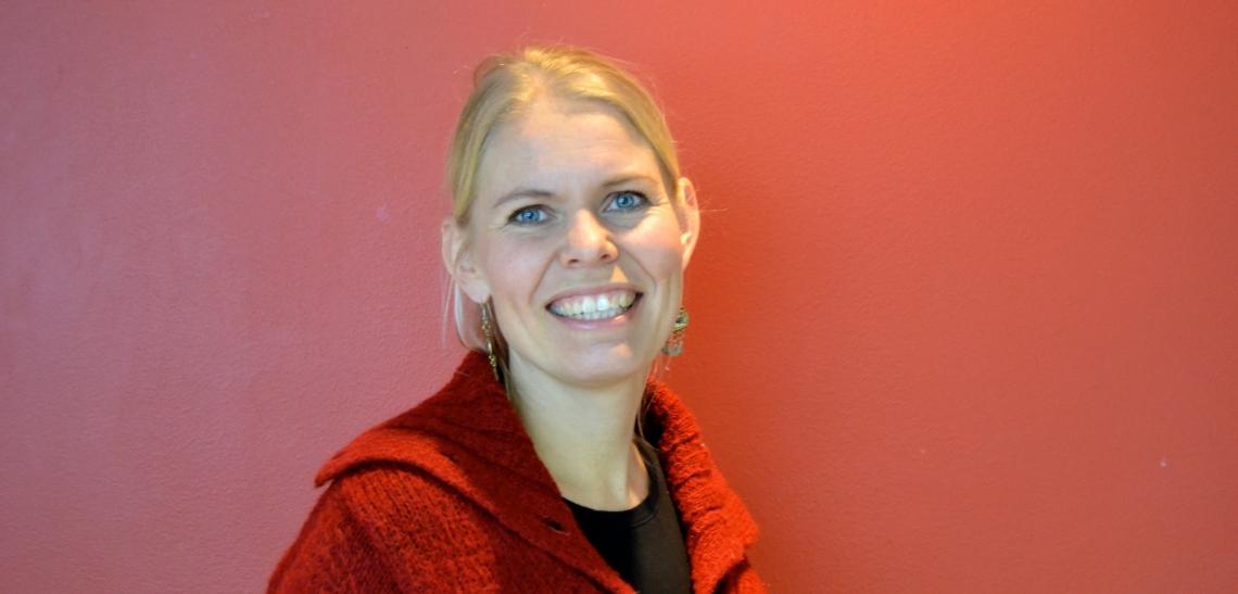 Ingunn Lyngset Holme, konstituert leder av Kirkens Ungdomsprosjekt (KUP)