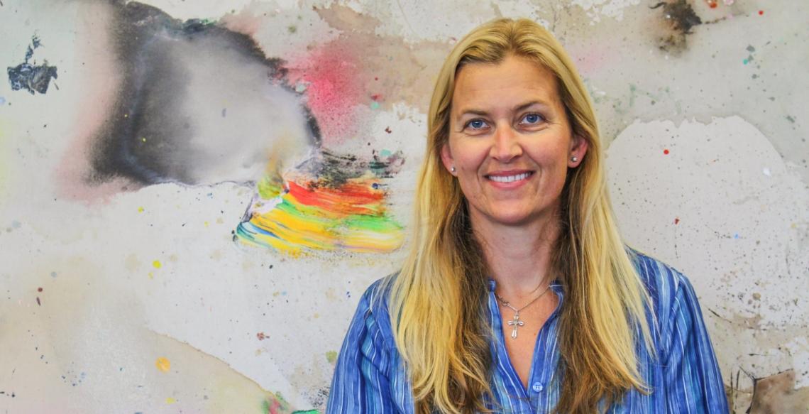 Ingrid Sæbø Møllen, Seniorrådgiver RVTS Sør. Foto: Therese Skauge Klokset