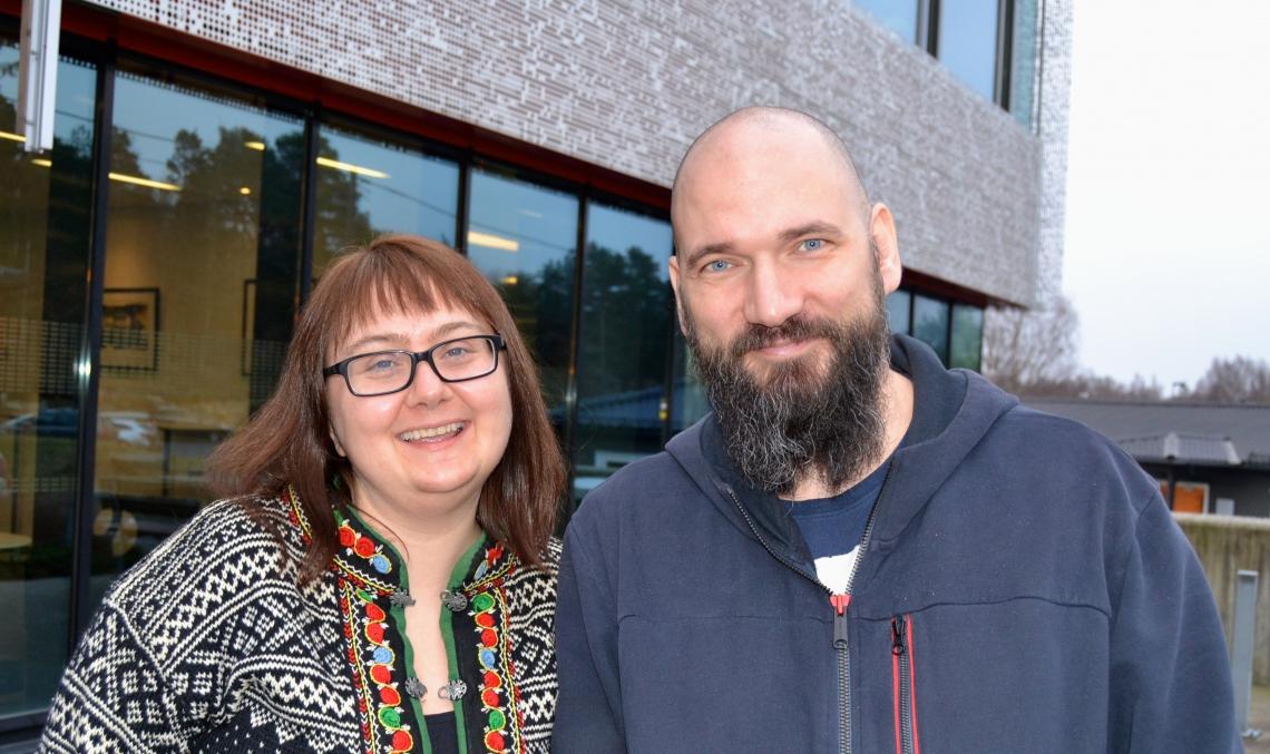 Monica Kvarv og Levente Blanár