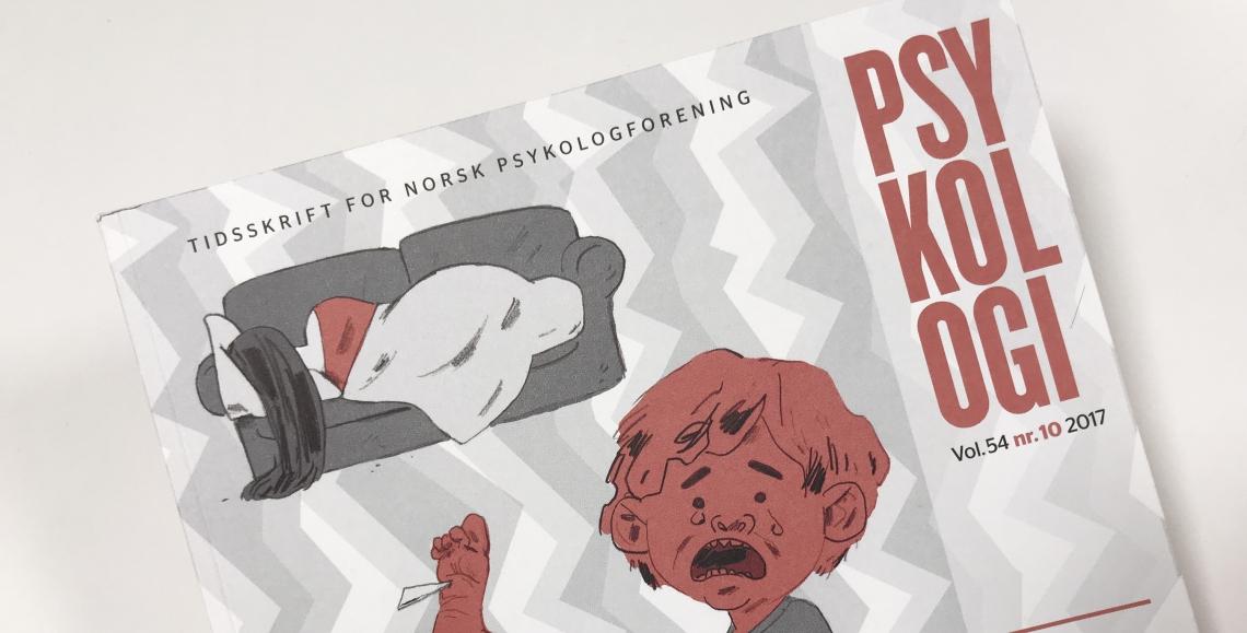 Faksimile fra Psykologitidsskriftet