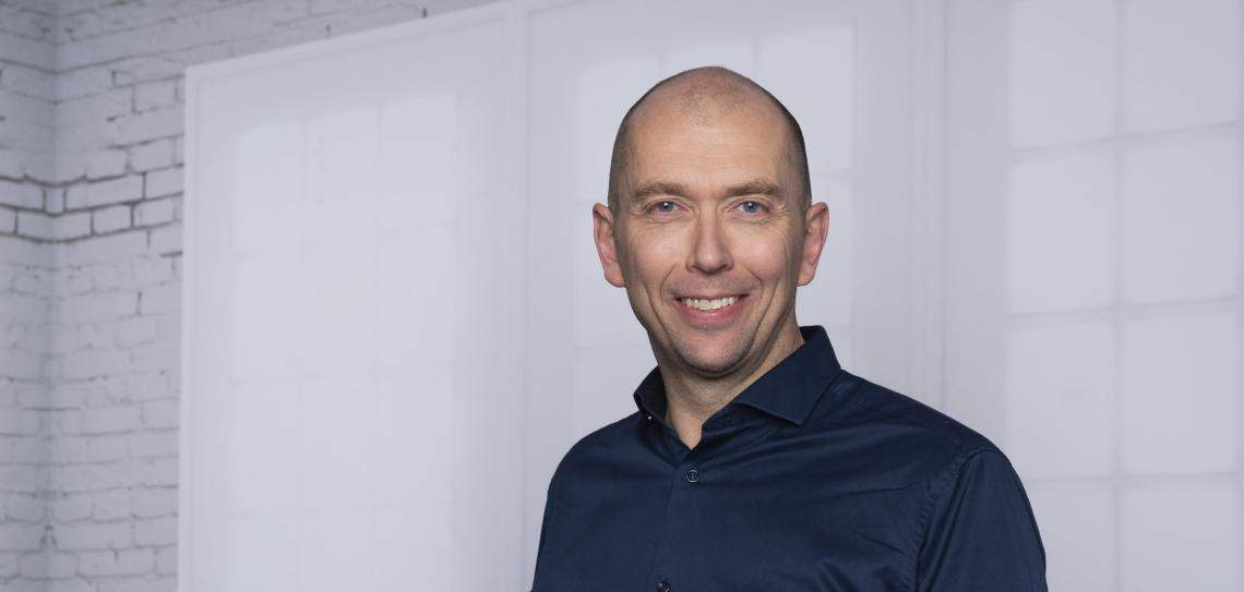 Martin Mølsæter - ny senterleder for RVTS Sør fra 1. januar 2021.Foto: Liv Unni Tveitane