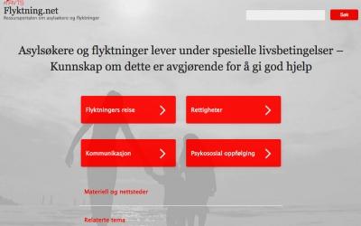 Flyktning.net er nå lansert