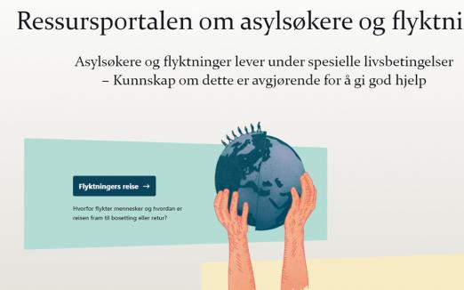 Relansering av flyktning.net